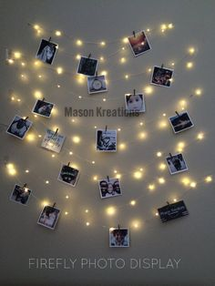Mason FireFly Lights Silver Wire Craft clips Batteries included Hangit picture lights photo string lights fairy lights for dorm fairy lights for bedroom fairy lights hanging fairy lights *** Read more at the image link. (This is an affiliate link) Fairy Lights Photos, Led Fairy Lights, Hanging Lights, String Lights, Picture Lights, Wall Lights, Light String, Fairy Light Decor, Light Picture Wall