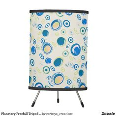 Illuminate your home with Tripod lamps from Zazzle. Choose from our pendant, tripod, or table lamps. Find the right lamp for you today! Tripod Lamp, Kids Rooms, Pendant Lamp, Table Lamp, Curtains, Lighting, Blue, Home Decor, Table Lamps