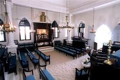 Historic St. Thomas synagogue. Founded in 1796, it is the second-oldest synagogue in the Western Hemisphere and the longest in continuous use under the US flag.