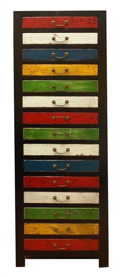 15 Drawer Cabinet