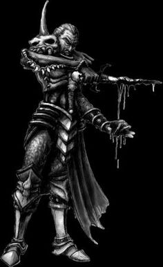 The necromancer from Diablo II.  One of the best game characters, ever.