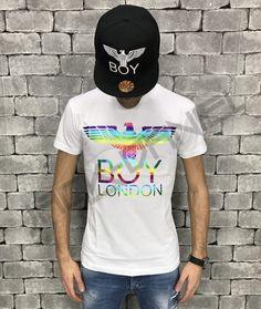 T-SHIRT BOY LONDON UOMO ART.BL634-WHT Boy London, Street Style, Boys, Mens Tops, T Shirt, Shopping, Art, Fashion, Baby Boys