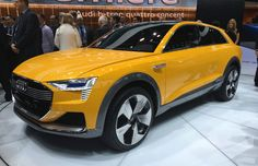 Audi shows A4 allroad, hydrogen fuel cell concept
