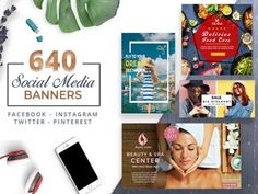 Announce special the launch of a new product or promote your business with these professional 640 Banner Templates For Twitter Banner, Instagram Banner, Facebook Banner, Facebook Instagram, Social Marketing, Business Marketing, Online Business, Best Drip Coffee Maker, Netflix Gift