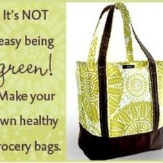 Reusable Grocery Bag - DIY- Click picture for tutorial
