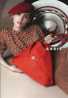 Akris Accessories Pre Fall 2014 Campaign #Akris   #fashion   #accessories   #manonleloup   http://www.bliqx.net/akris-accessories-pre-fall-2014-campaign/