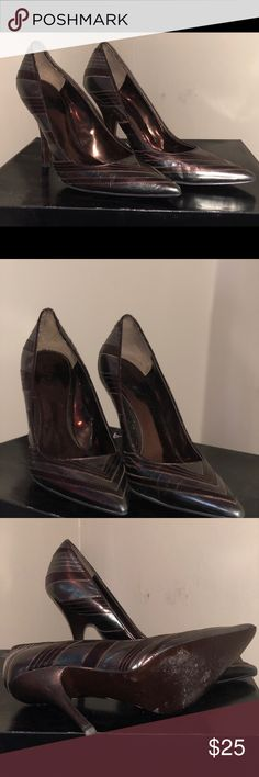 Carlos Santana pumps Metallic Olive and Brown pumps size 8.5 Carlos Santana Shoes Heels