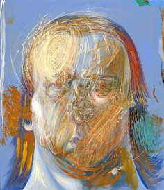 Philip Akkermans painted over 3.000 portraits of himself. Amazing!