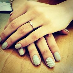 Wedding#ring#nail