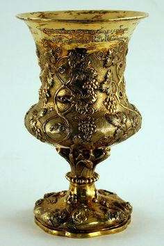 Gold Chalice presented to the 1st Lanarkshire Rifle Volunteers