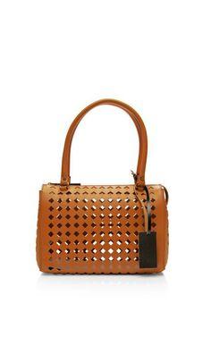 Mini Laser-Cut Leather Handbag by Marni Now Available on Moda Operandi