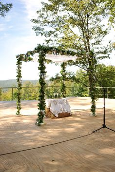Chuppah, Inside/Out Stage, Jacob's Pillow, the Berkshires. Copyright Brian Sullivan Photography, 2011