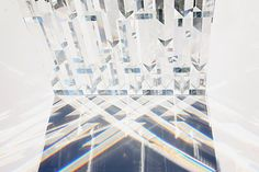 Japanese designer Tokujin Yoshioka will exhibit a glass window made of 500 crystal prisms at MUSEUM. beyond museum in Seoul this May. Called Rainbow Church, the eight metre-high installation will create rainbows within the space as the light is refracted. More about Tokujin Yoshioka on Dezeen in our special category. The information below is from
