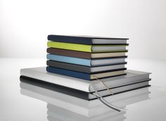 Notizbücher gefertigt aus Feinstpapieren der italienischen Papiermanufaktur FEDRIGONI