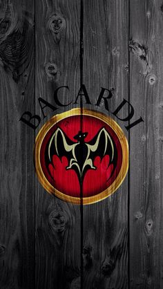 Bacardi Wood Background Black Skin Hard Shell Case for iPhone DIY by Qinchao Paper Wallpaper, Hd Wallpaper, Iphone Wallpapers, Domino Table, Nightclub Design, Food And Beverage Industry, Bacardi Rum, Funny Posters, Cocktails