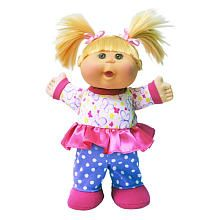 Cabbage Patch Kids Pajama Dance Party Brunette With Brown Eyes
