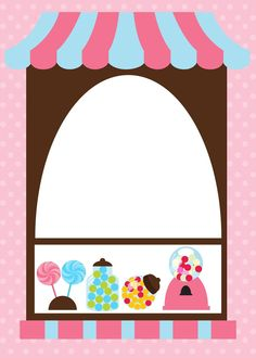 Cute Wallpaper Backgrounds, Cute Wallpapers, Candy Land Theme, Sofia The First Birthday Party, School Murals, Frame Clipart, Candy Party, Paper Tags, Writing Paper