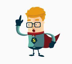 Free Super Geek Character Package on Behance