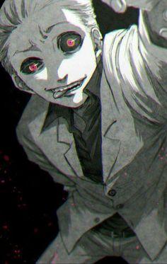 Naki. Tokyo ghoul. Like him so much :)