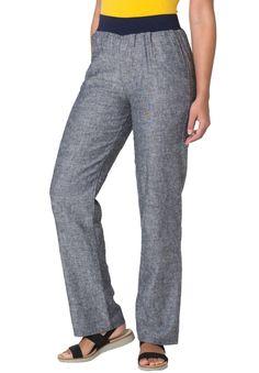 74fb0bd085b Wide-leg linen pants - Women s Plus Size Clothing Linen Pants Women