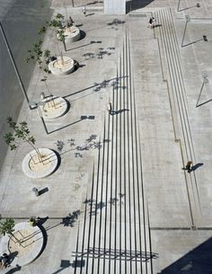 57 Ideas For Ramp Stairs Architecture Design Landscape Stairs, Landscape And Urbanism, Landscape Architecture Design, Urban Landscape, Landscape Bricks, Design D'espace Public, Street Design, Villa Architecture, Architecture Diagrams