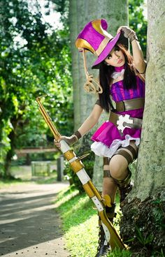 Caitlyn  - League of Legends when i first got an account she was free for that week and ever since i've wanted her so bad XD