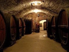The wine cellars at Brotherhood are one of my favorite places in the whole world!