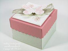 Nellis Stempeleien:  Box mit dem Stanz- und Falzbrett für Umschläge und dem Stempelset Schmetterlingsgruß;  Envelope Punch Board; Butterfly Basics, Stampin' UP!