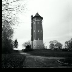 Pinhole photo of Water Tower in Lawrence MA