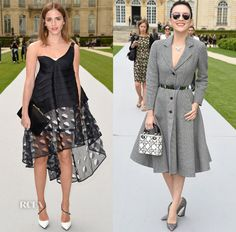 Christian Dior Fall 2014 Couture Front Row
