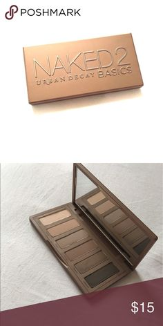 Naked Basics 2 Urban decay naked basics are great for travel. They are minimalist makeup compacts to cut down on space taken. Shadows are creamy and pigmented! Urban Decay Makeup Eyeshadow