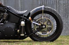 Turning a Harley Softail into something cool - Page 4 - Club Chopper Forums Honda Bobber, Softail Bobber, Bobber Bikes, Harley Bobber, Harley Softail, Harley Davidson Chopper, Harley Davidson Motorcycles, Custom Motorcycles, Custom Street Bikes