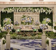 Ideas wedding backdrop blue for 2019 Vintage Wedding Backdrop, Wedding Backdrop Design, Wedding Reception Layout, Wedding Stage Design, Rustic Wedding Backdrops, Simple Wedding Decorations, Wedding Ceremony Backdrop, Wedding Colors, Simple Weddings