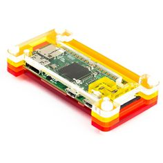 Crafted out of four unique layers including a transparent top and base that leave your beautiful Pi visible inside. Each layer is laser-cut from colourful high-quality cast acrylic and once stacked they securely contain a Raspberry Pi Zero while leaving the primary ports and GPIO accessible. This case is lightweight and ideal for mounting to any surface. No tools are required for assembly or disassembly.