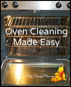 Oven Cleaning Made Easy - My Honeys Place