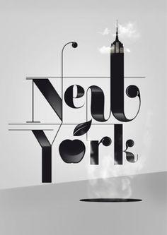 typo New York #typo #Newyork #creative #design