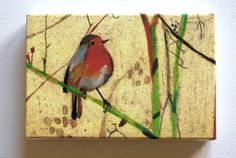 Bird / Tiny canvas