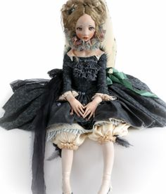 Moth. Art doll by Alisa Filippova Fairy World & Fantastic Cratures Keka❤❤❤