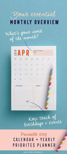 111 best 2019 printable calendars images in 2019 day planners