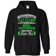 Born in MERRILL-WISCONSIN P02 - #v neck tee #cardigan sweater. MORE ITEMS => https://www.sunfrog.com/States/Born-in-MERRILL-2DWISCONSIN-P02-Black-Hoodie.html?68278