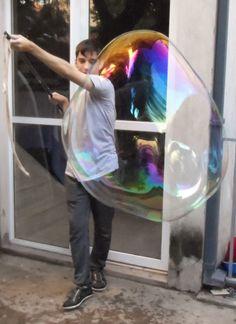 burbuja gigante Espacio Didáctico eventos infantiles
