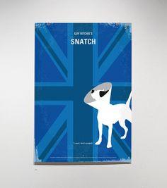 a minimalist's take on movie posters: Snatch