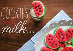 Bevor der Sommer vorbei ist wollte ich noch diese süße Cookie-Idee ausprobieren, die ich in diesem  Video auf YouTube gesehen habe. Das w...