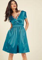 A Pleasing Evening A-Line Dress | Mod Retro Vintage Dresses | ModCloth.com