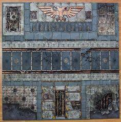 Sector Imperialis   Flickr - Photo Sharing! Warhammer Terrain, 40k Terrain, Game Terrain, Wargaming Terrain, Minis, Sci Fi Rpg, Brick Texture, Fantasy Map, Fantasy Miniatures