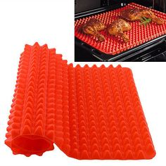 #Durable #pyramid fat reducing #silicone cooking mat oven baking kitchen,  View more on the LINK: http://www.zeppy.io/product/gb/2/271870029994/