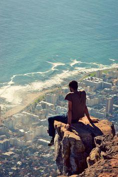 """Góry nad Cape Town """"Głowa Lwa"""", Republika Południowej Afryki"""