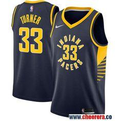 8656bd86424 Men s Nike Pacers  33 Myles Turner Navy Blue NBA Swingman Jersey Basketball  Goals