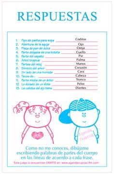 Juego: Partes del Cuerpo del bebe