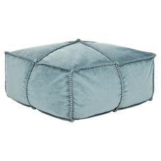 at first i thought this pouf was made out of recycled jeans